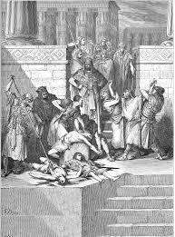 על החלטת המלך צדקיהו למרוד בבבל