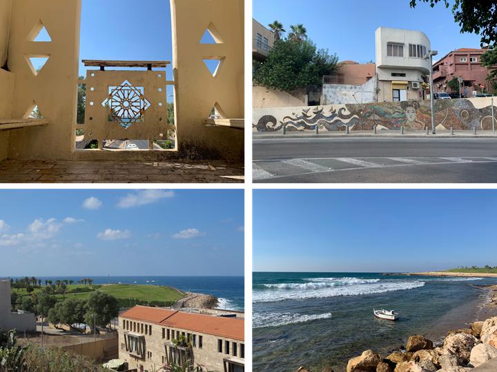 סיור שטח בשכונת עג'מי היפואית